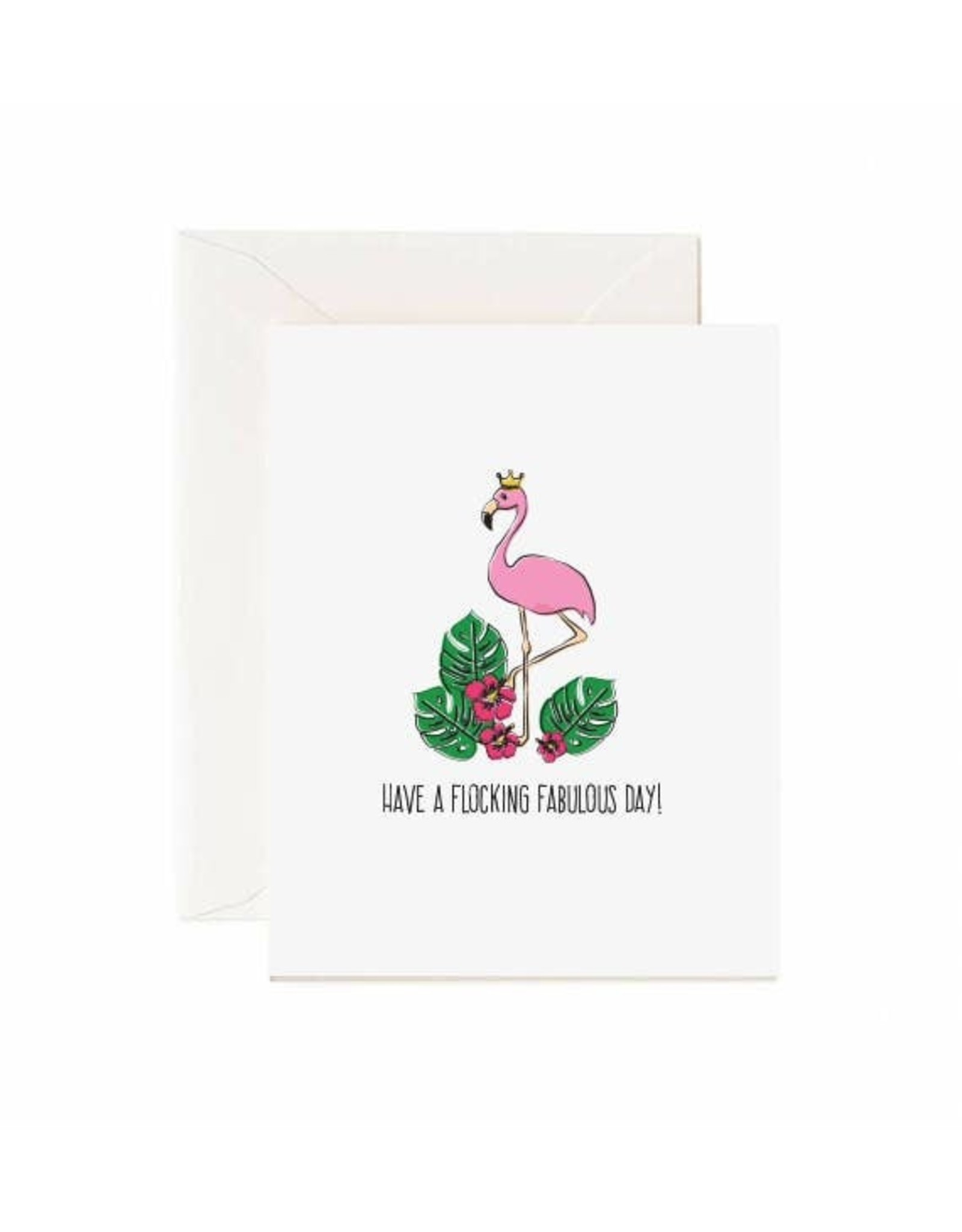 Jaybee Designs Have A Flocking Fabulous Day  - Card