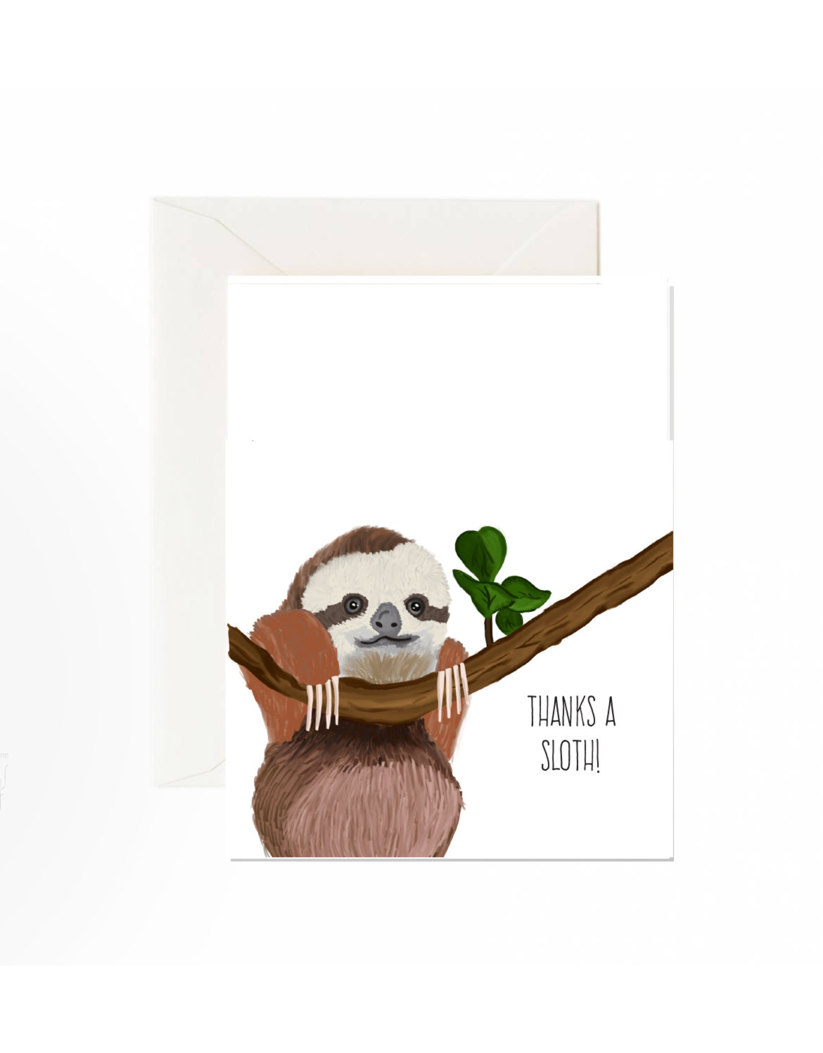 Jaybee Designs Thanks A Sloth  - Card
