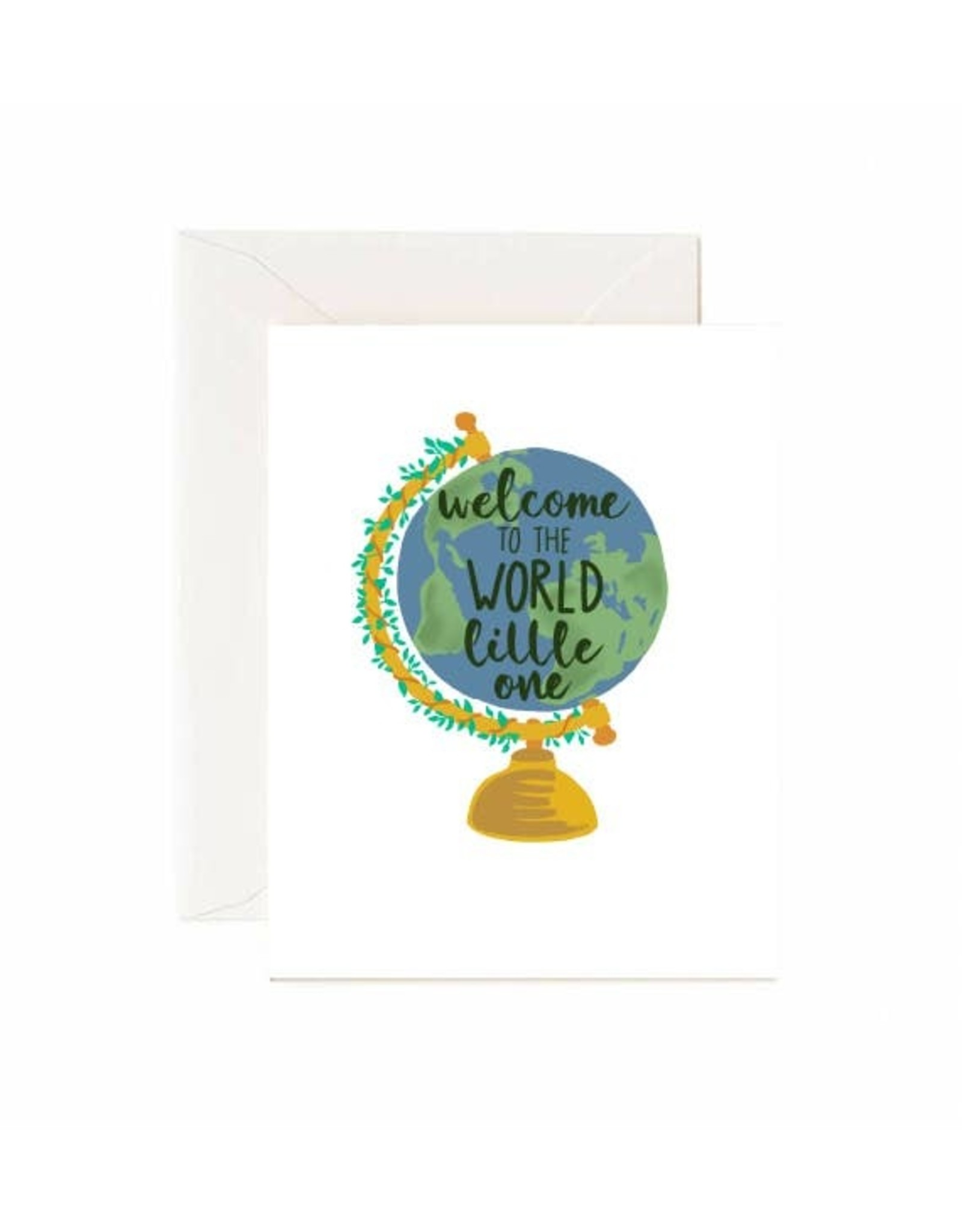 Jaybee Designs Welcome To The World Little One  - Card