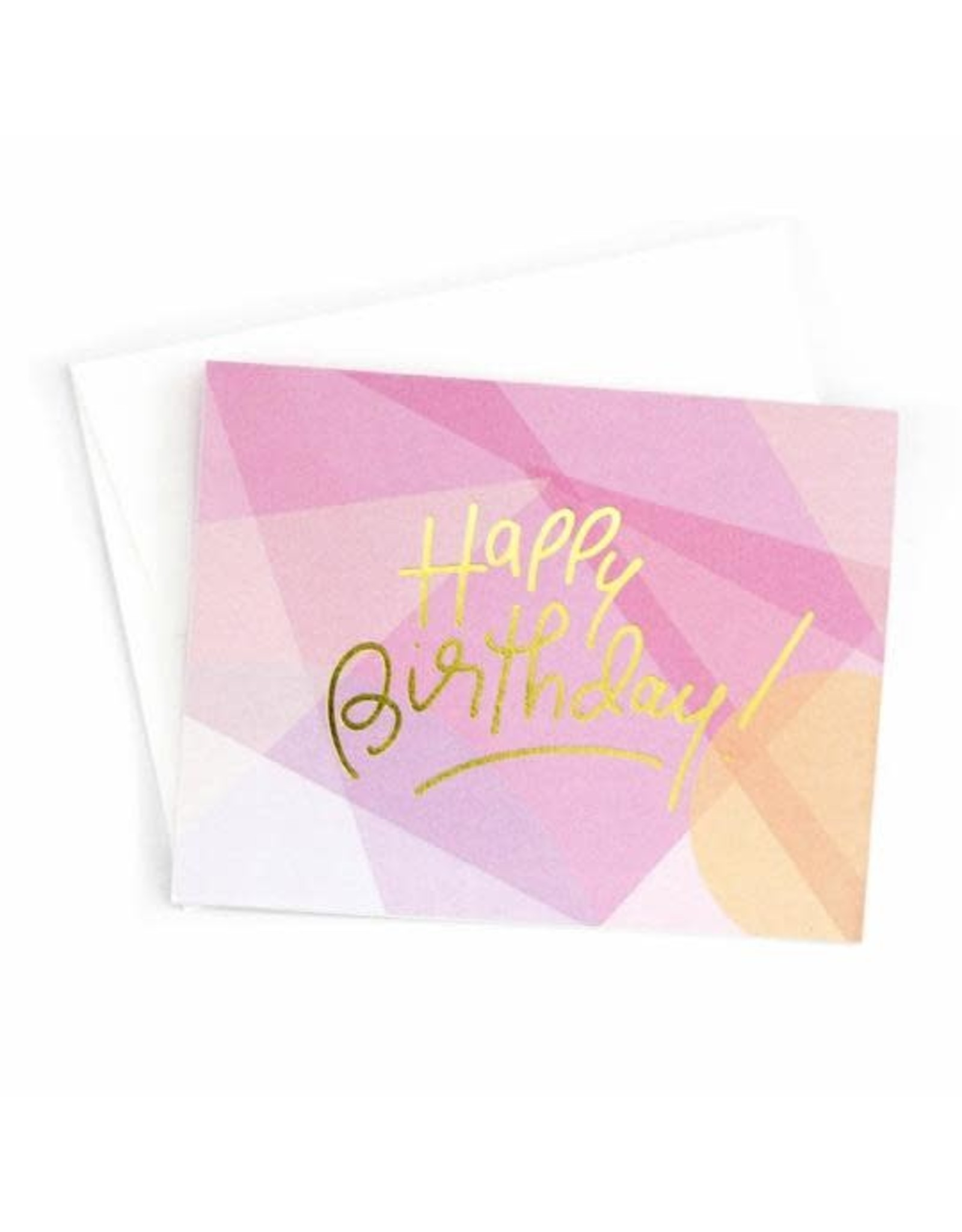 Penny Paper Co. Happy Birthday (Pink) - Card