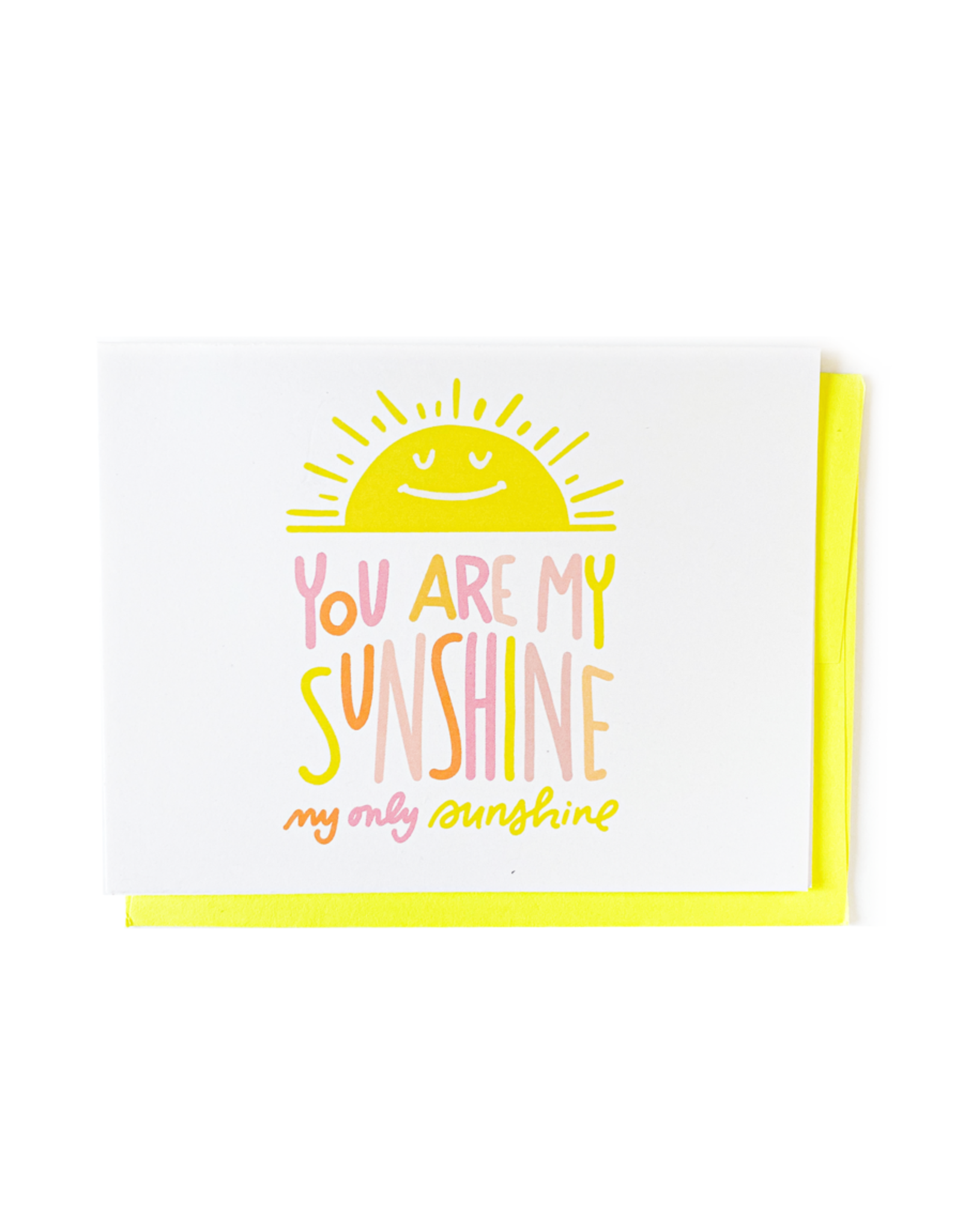 Penny Paper Co. You Are My Sunshine - Card