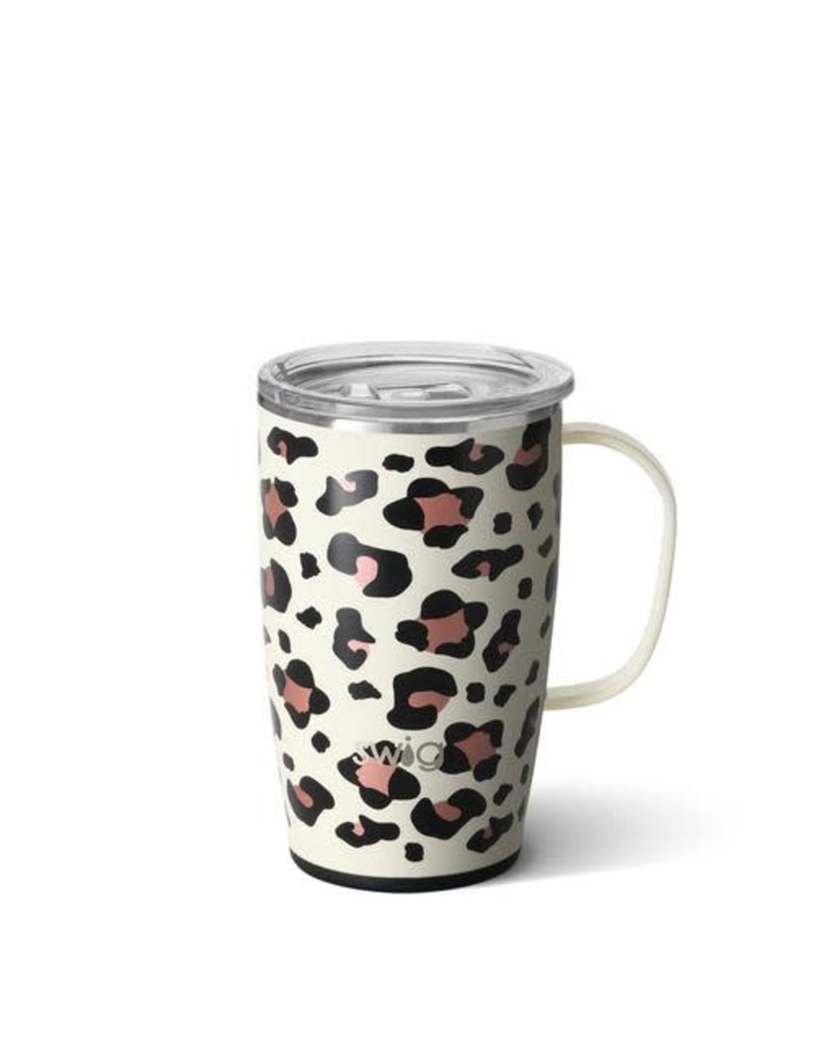 Swig 18 oz Mug - Luxy Leopard