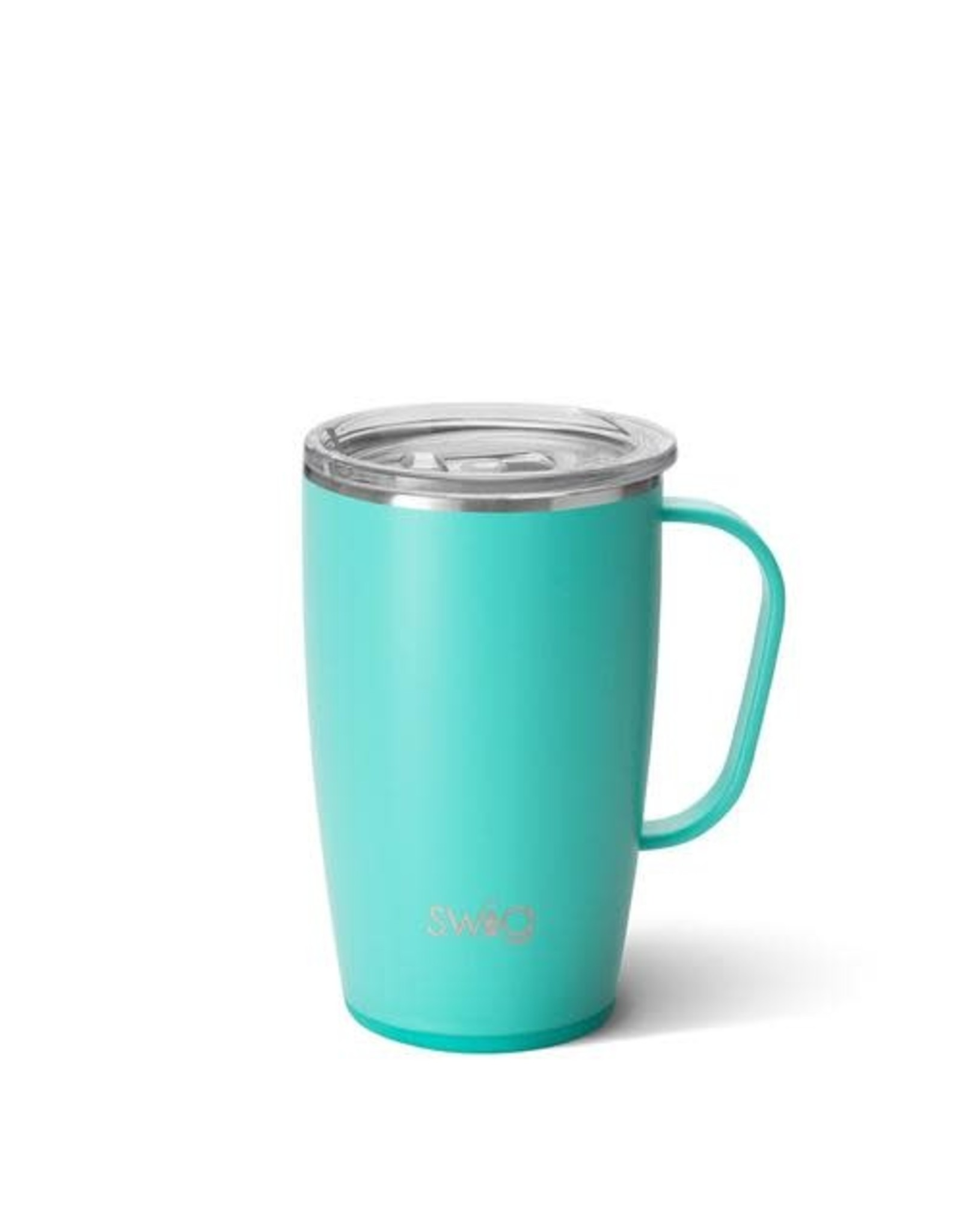 Swig 18 oz Mug - Matte Aqua
