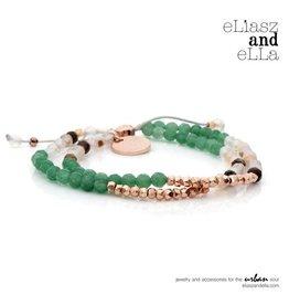"""eLiasz and eLLa """"Adventurer"""" Mixbead Stone Bangin' Bracelet"""