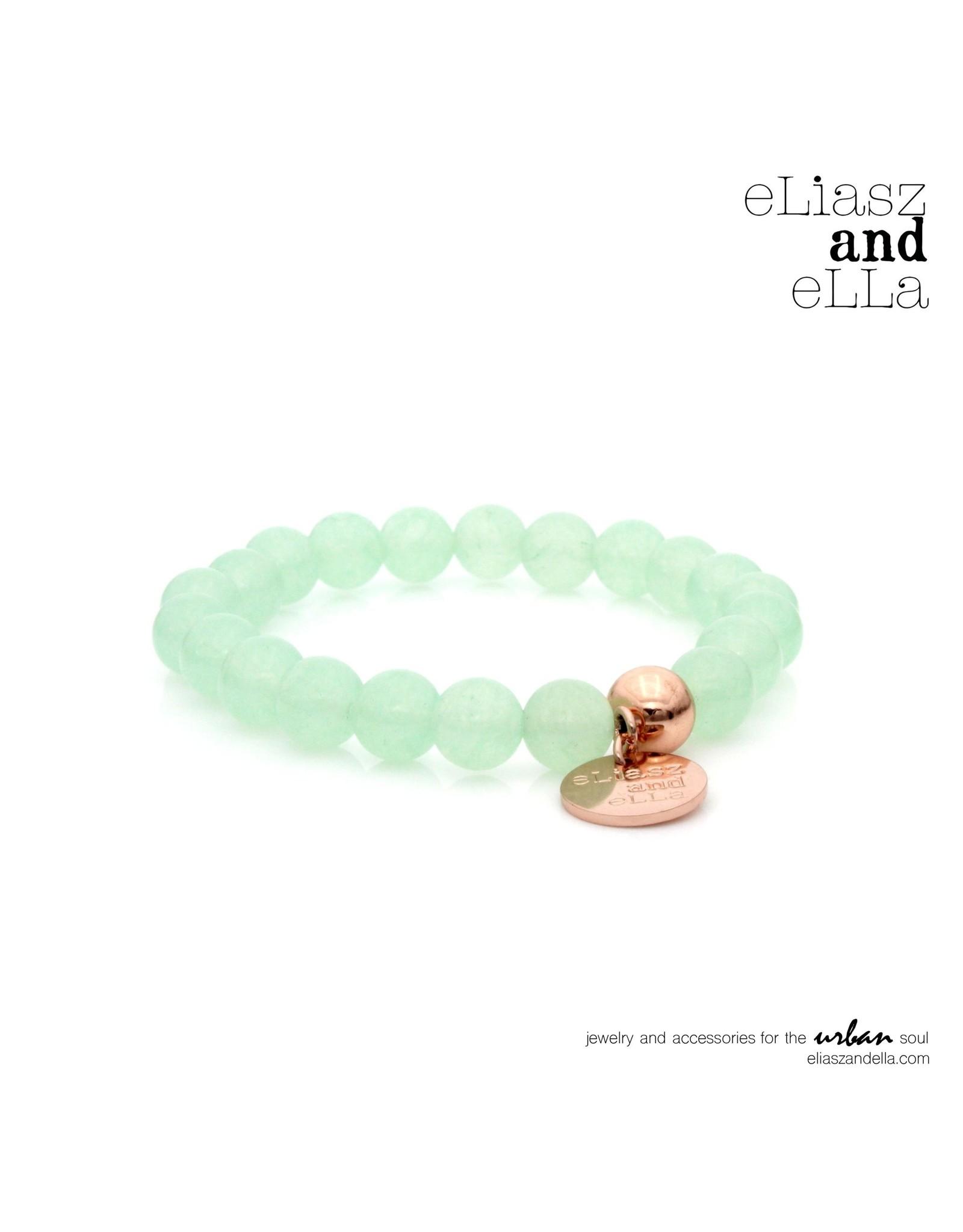 "eLiasz and eLLa ""Aqua"" Stone Bangin' Bracelet"