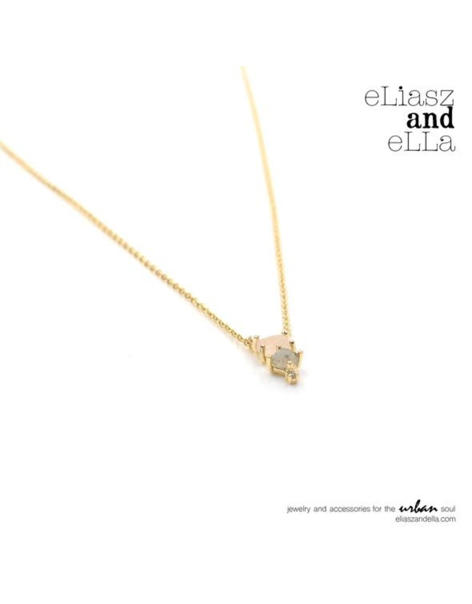 "eLiasz and eLLa ""Enchanting"" Gold Necklace"