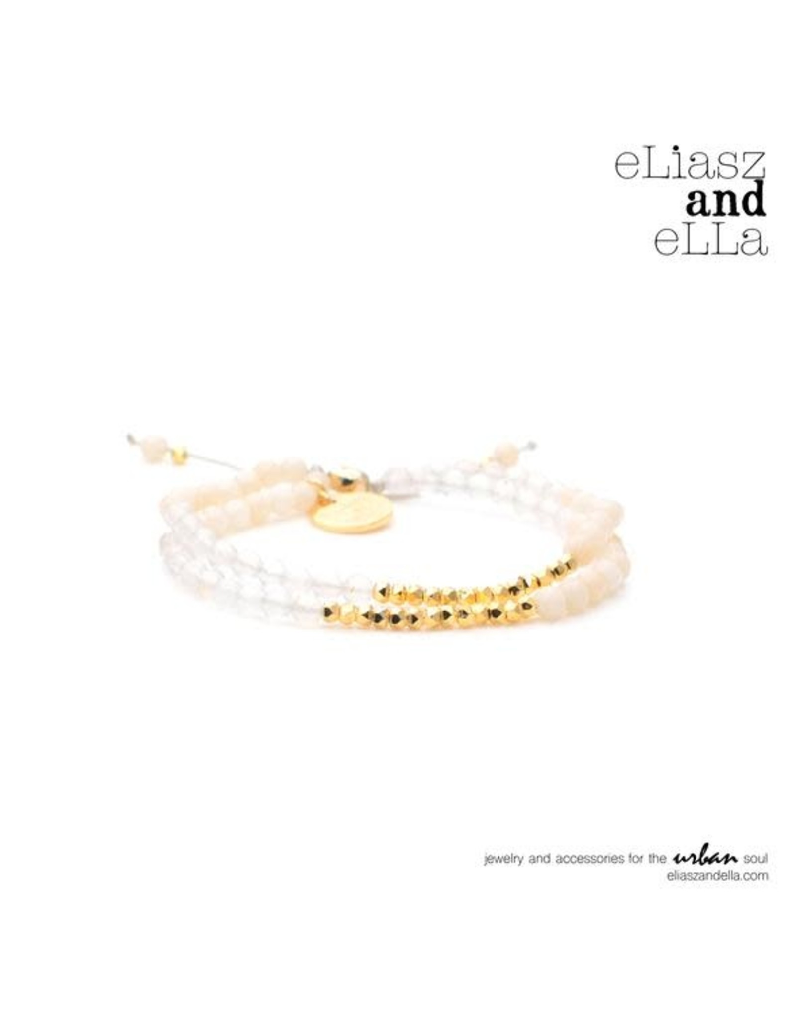 "eLiasz and eLLa ""Enlightening"" Mixbead Stone Bangin' Bracelet"