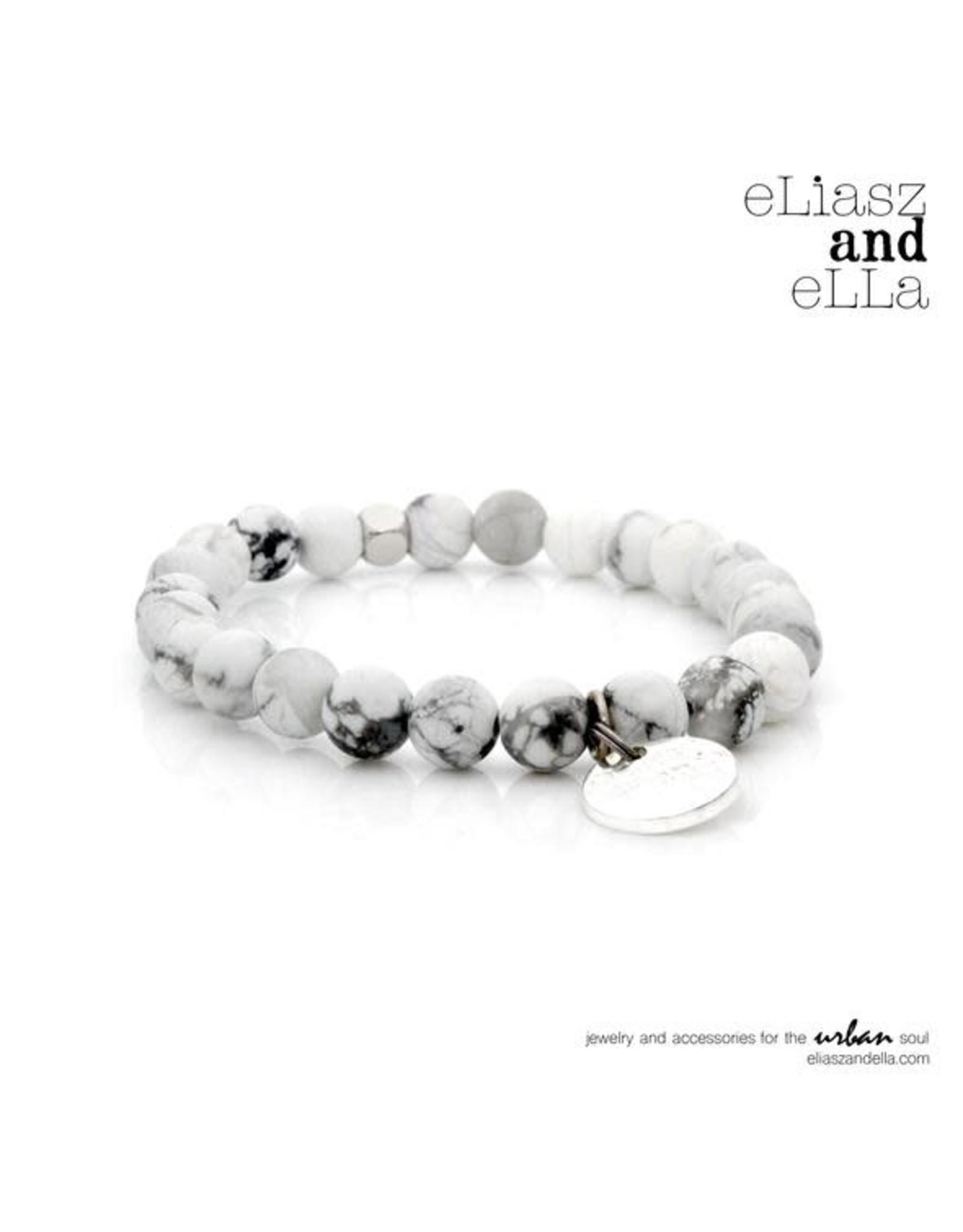 "eLiasz and eLLa ""Foggy Peak"" Matte Stone Bangin' Bracelet"
