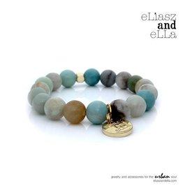 "eLiasz and eLLa ""Jasper River"" Stone Bangin' Bracelet"