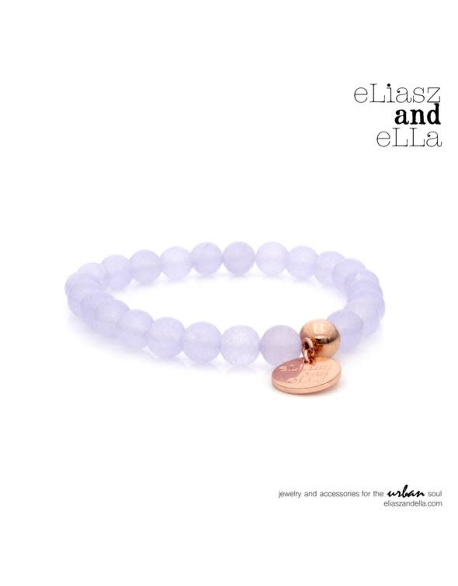"eLiasz and eLLa ""Lavender"" Stone Bangin' Bracelet"