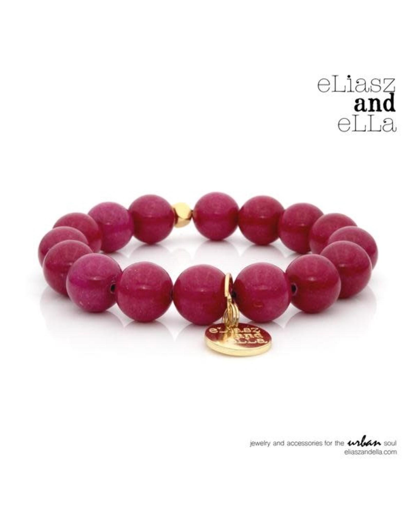 "eLiasz and eLLa ""Mauve River"" Stone Bangin' Bracelet"