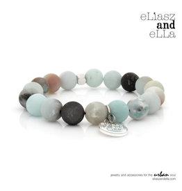 "eLiasz and eLLa ""Rainforest"" Matte Stone Bangin' Bracelet"