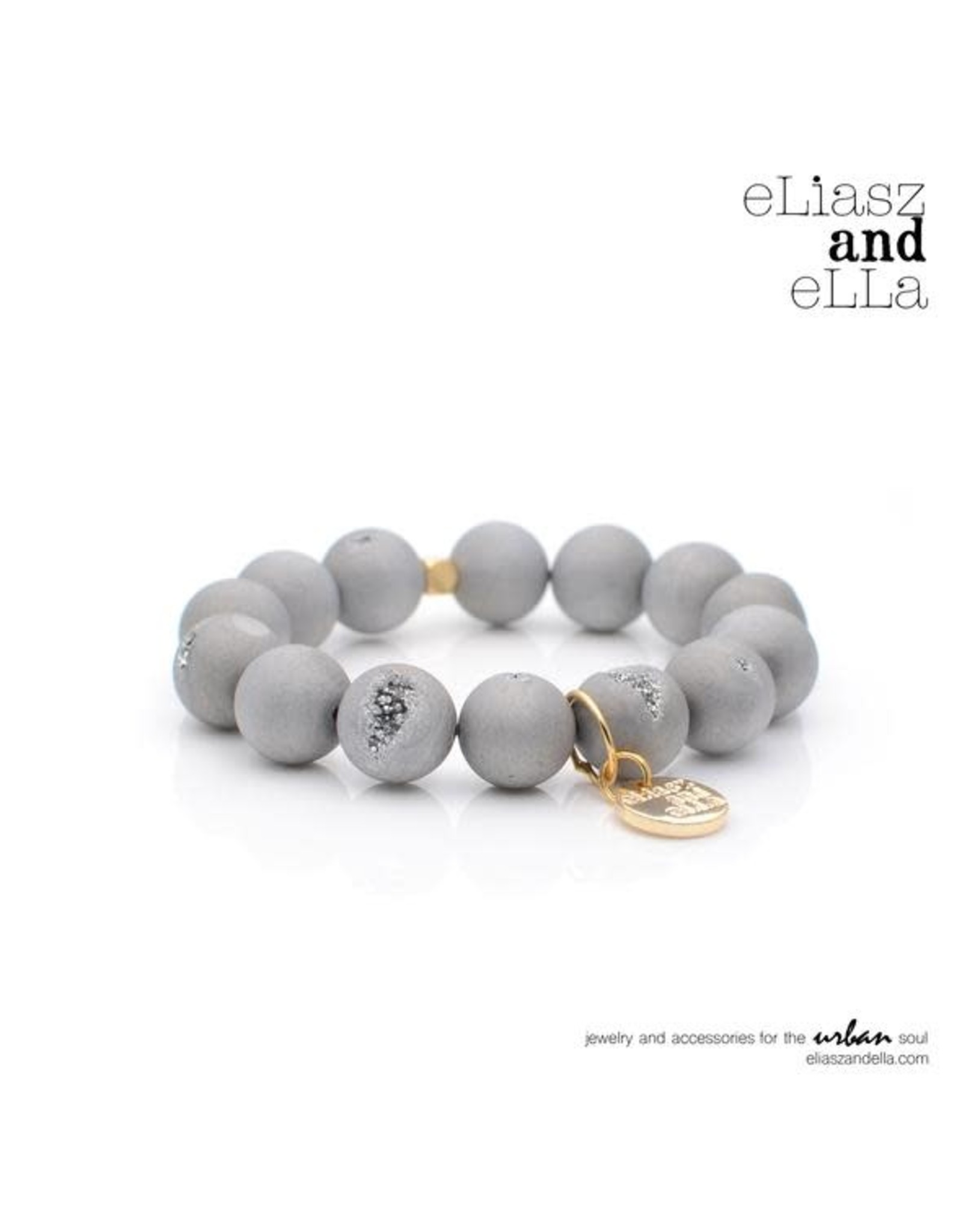 """eLiasz and eLLa """"Silver and Gold"""" Limited Edition Bangin' Bracelet"""
