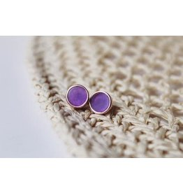 "eLiasz and eLLa ""Sugar"" Earrings in Amethyst"