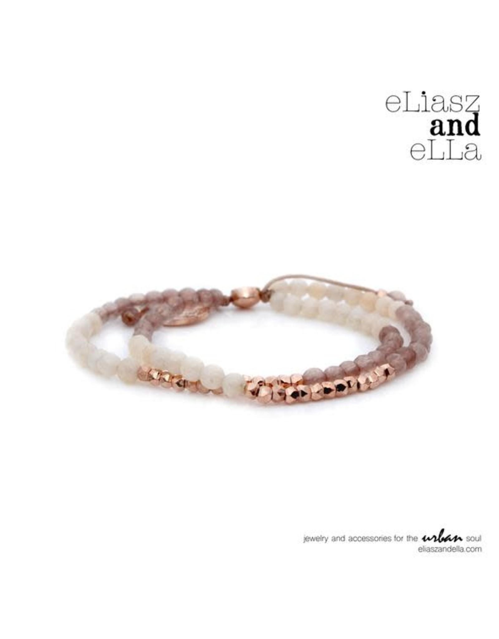 "eLiasz and eLLa ""Sunset"" Mixbead Stone Bangin' Bracelet"