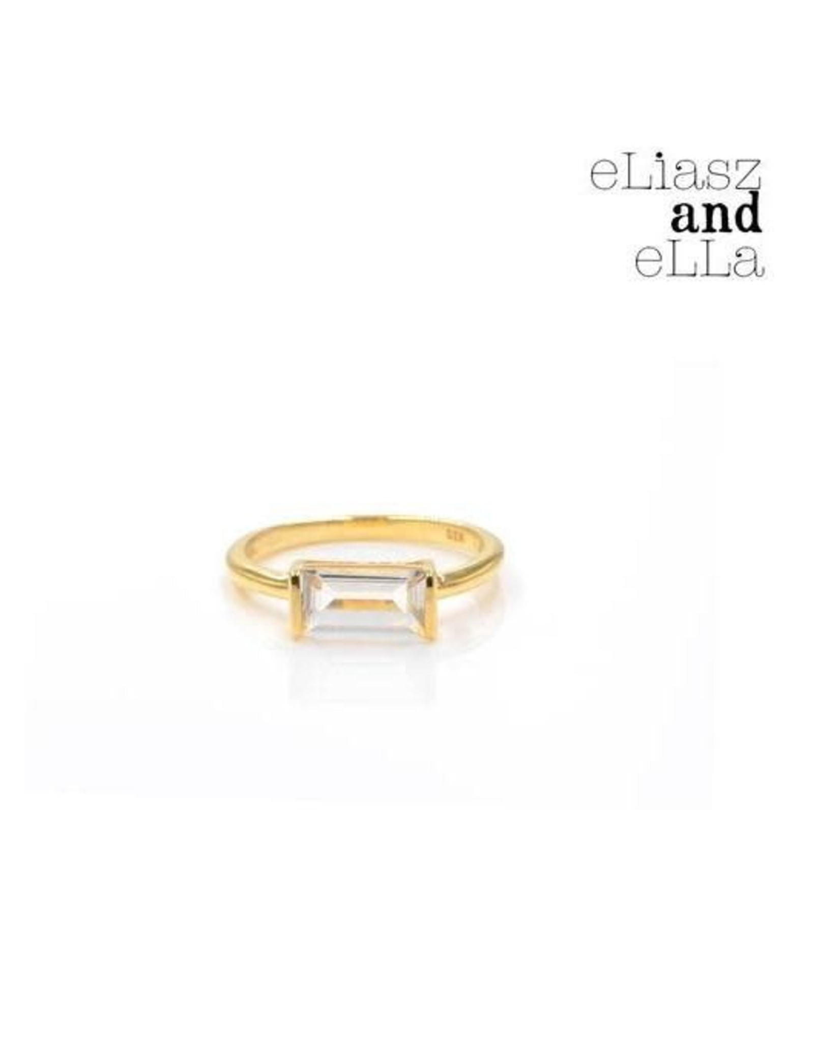 "eLiasz and eLLa ""Heirloom"" Crystal Quartz Ring"