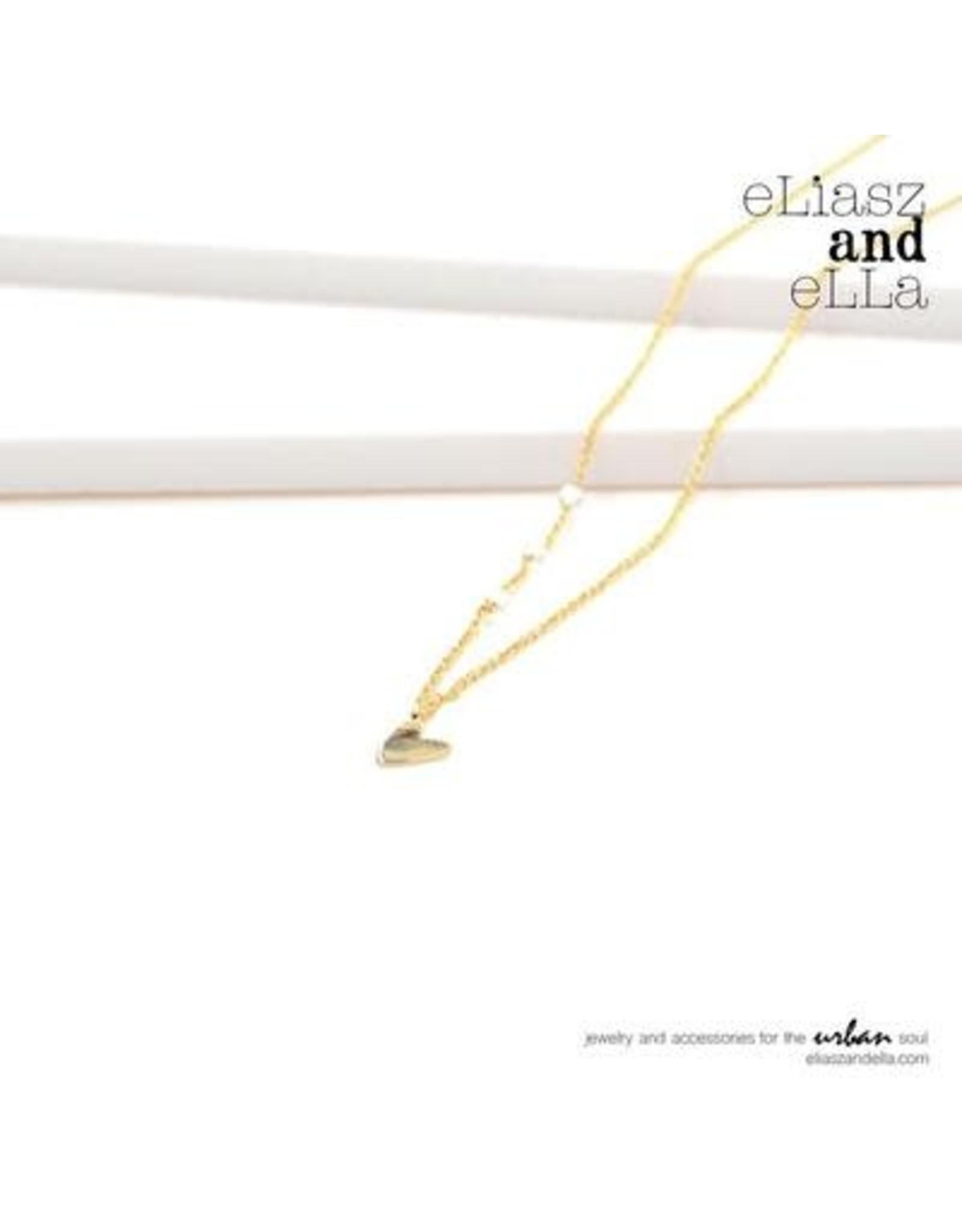 "eLiasz and eLLa Gold ""Little Heart"" Necklace"