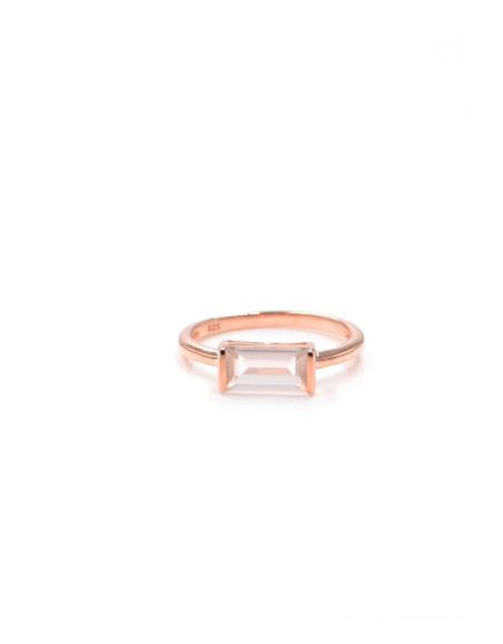 "eLiasz and eLLa ""Heirloom"" Rose Quartz Ring"