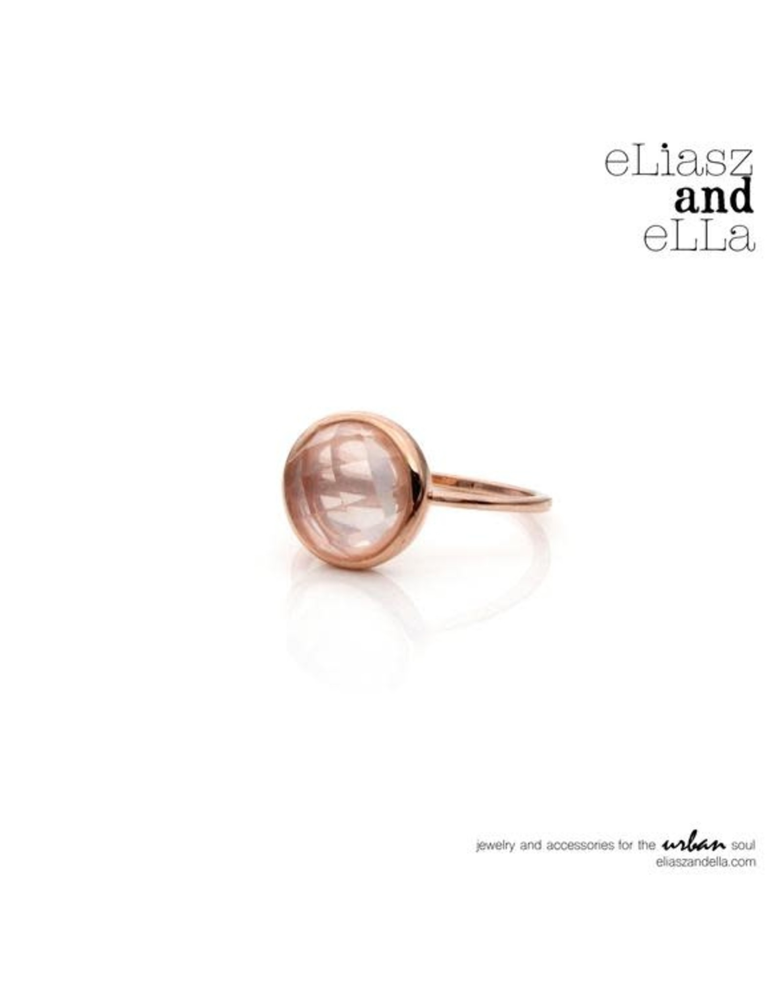 "eLiasz and eLLa ""Intrigue"" Rose Gold Ring"