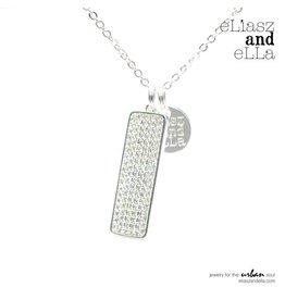 """eLiasz and eLLa """"Mileon"""" Necklace in Silver"""