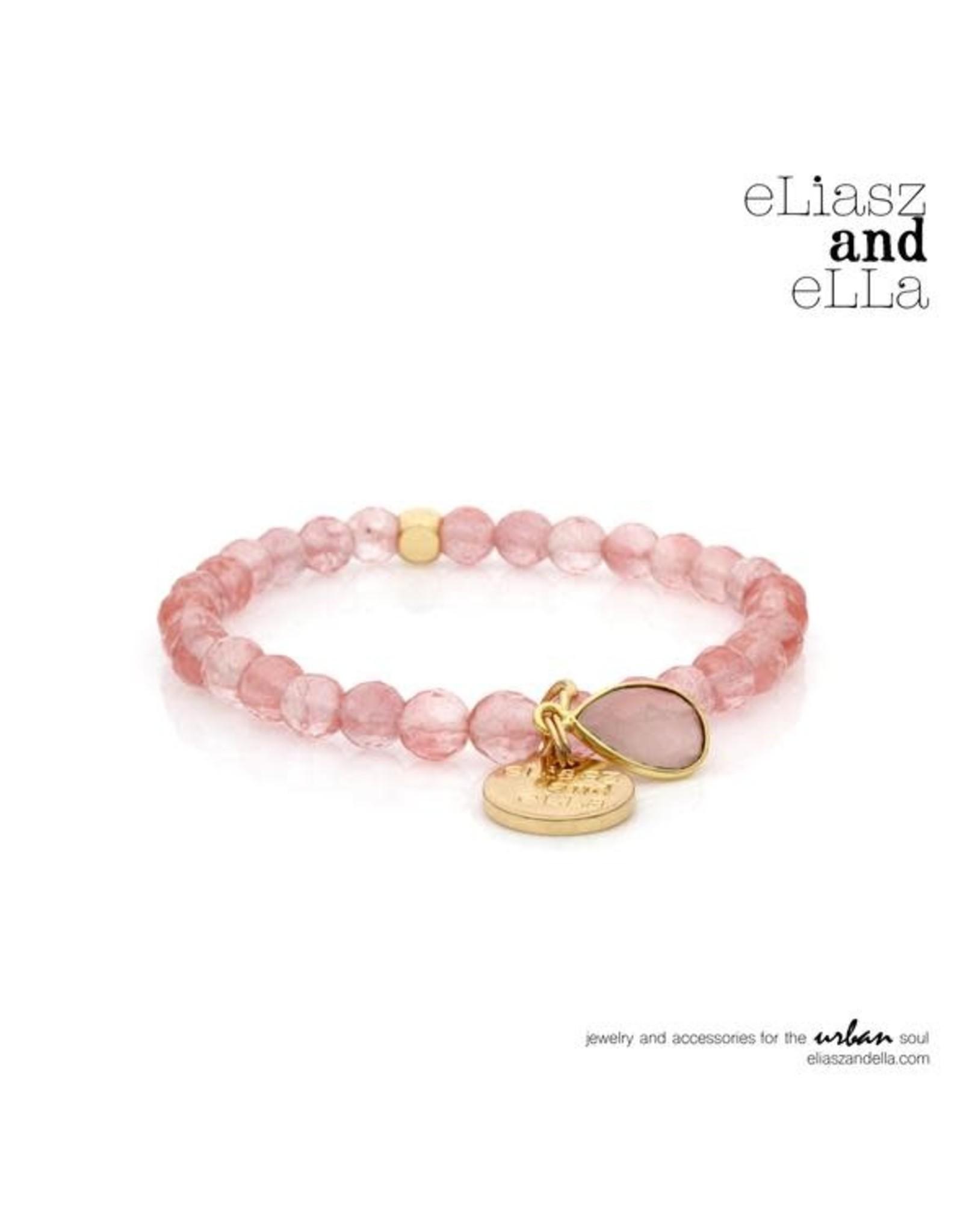 """eLiasz and eLLa Mini """"Cerise"""" Stone Bangin' Bracelet"""