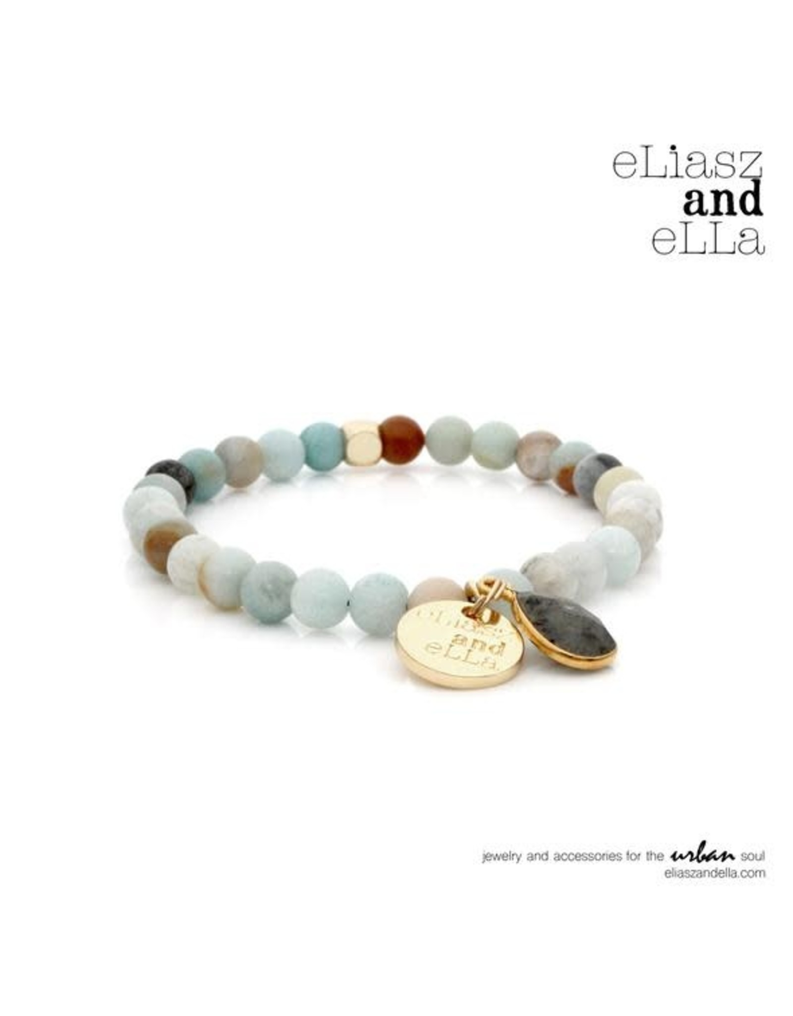 "eLiasz and eLLa Mini ""River Run"" Stone Bangin' Bracelet"