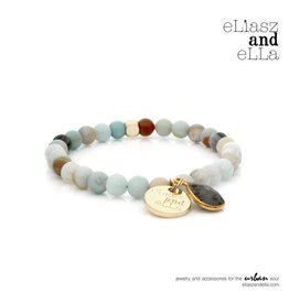 "eLiasz and eLLa Mini ""River Run"" Stone Bangin' Bracelet"