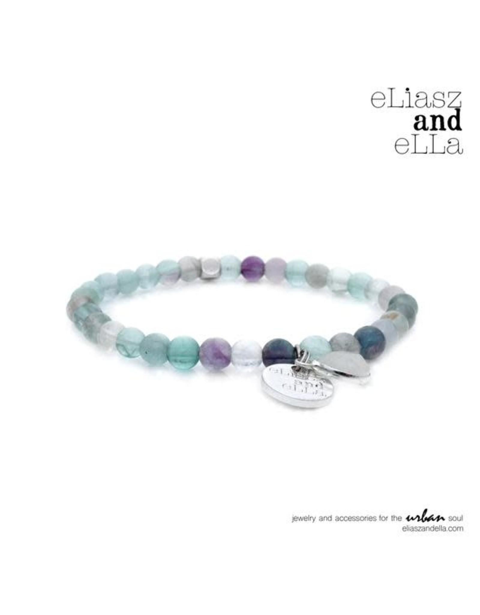 "eLiasz and eLLa Mini ""Violette"" Stone Bangin' Bracelet"