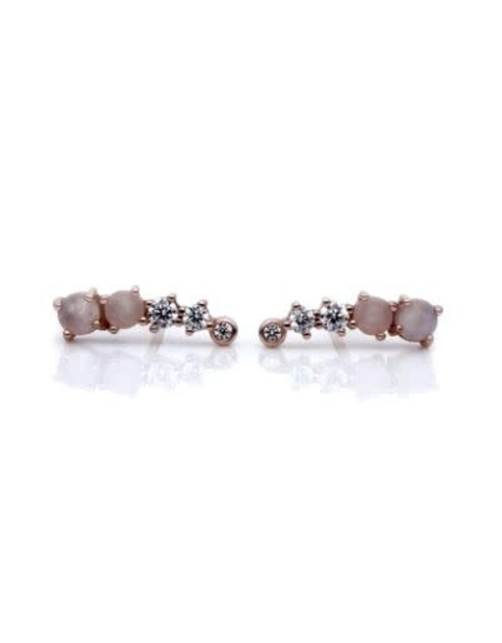 """eLiasz and eLLa Rose """"Angele"""" Earrings"""