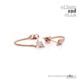 "eLiasz and eLLa Rose Gold ""Starling"" Earrings"