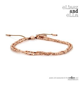 "eLiasz and eLLa Rose Gold ""Tiny"" Bead Bangin' Bracelet"