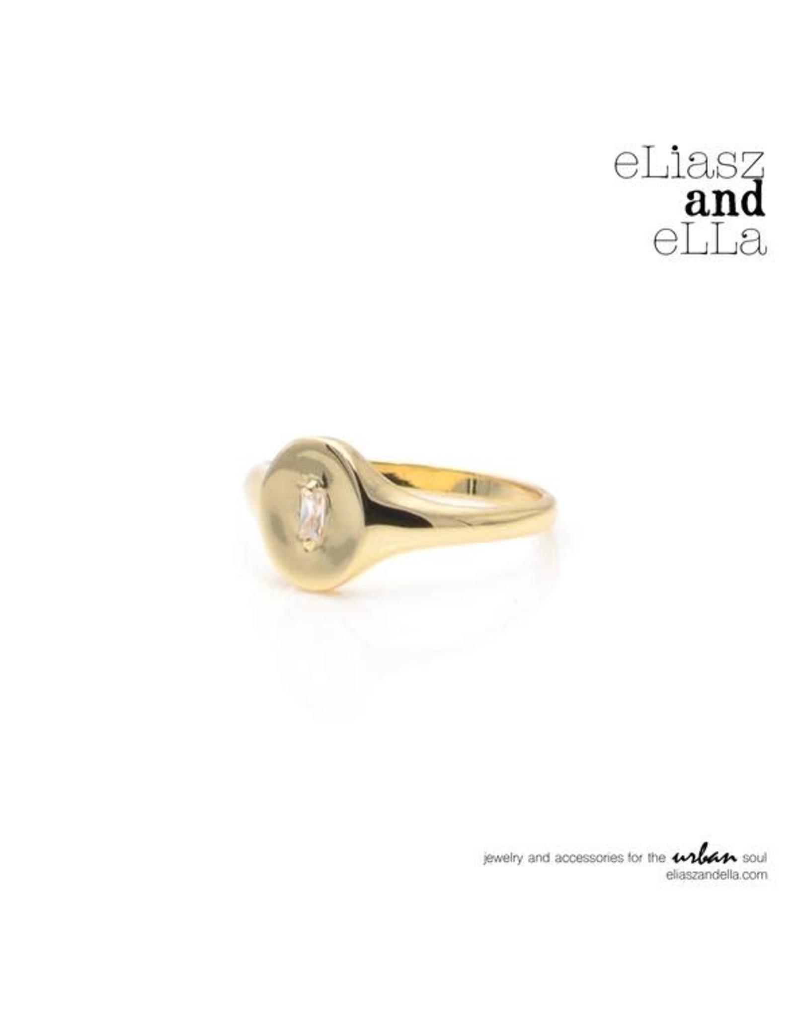 "eLiasz and eLLa ""Signet"" Ring"
