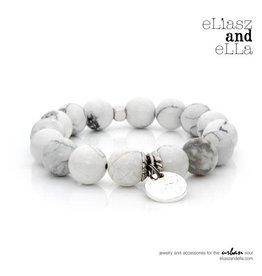 "eLiasz and eLLa Silver ""Marble"" Stone Bangin' Bracelet"