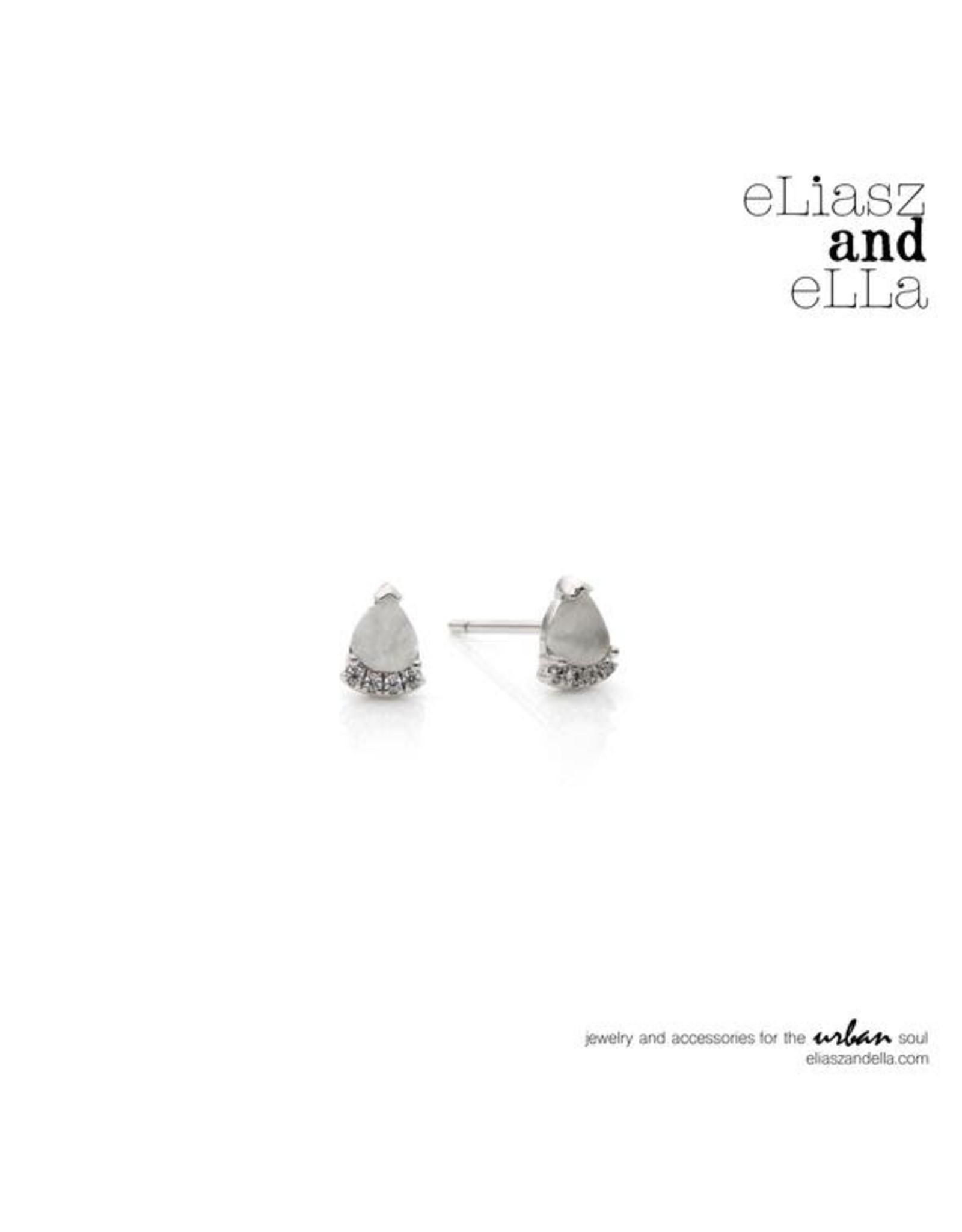 "eLiasz and eLLa Silver ""Dainty"" Studs Earrings"