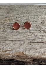 """eLiasz and eLLa """"Sugar"""" Earrings in Strawberry Agate"""
