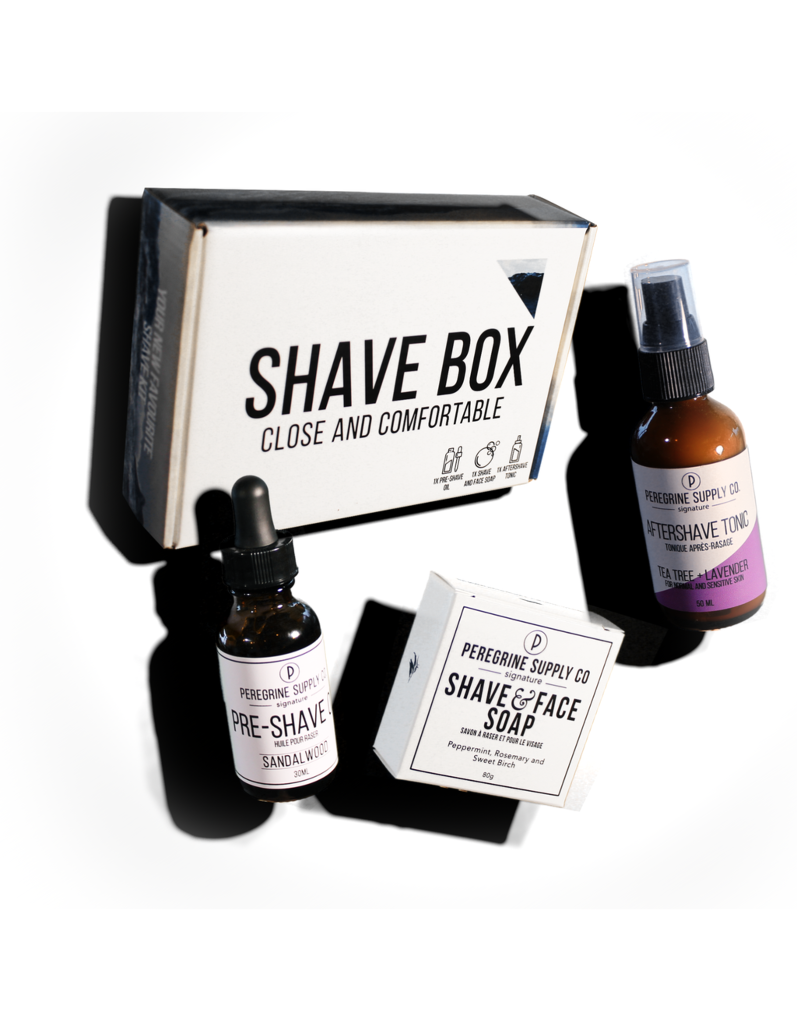 Peregrine Shave Box Care Set