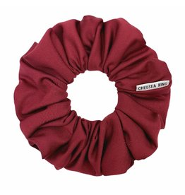 Chelsea King Active Antibacterial Ruby Wine Scrunchie
