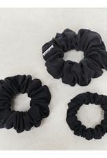 Chelsea King Luxe Black Scrunchie