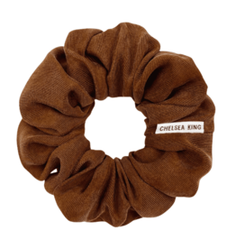 Chelsea King Luxe Moka Scrunchie