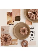 Chelsea King Luxe Nude Blush Scrunchie
