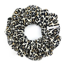 Chelsea King Natural Leopard Scrunchie