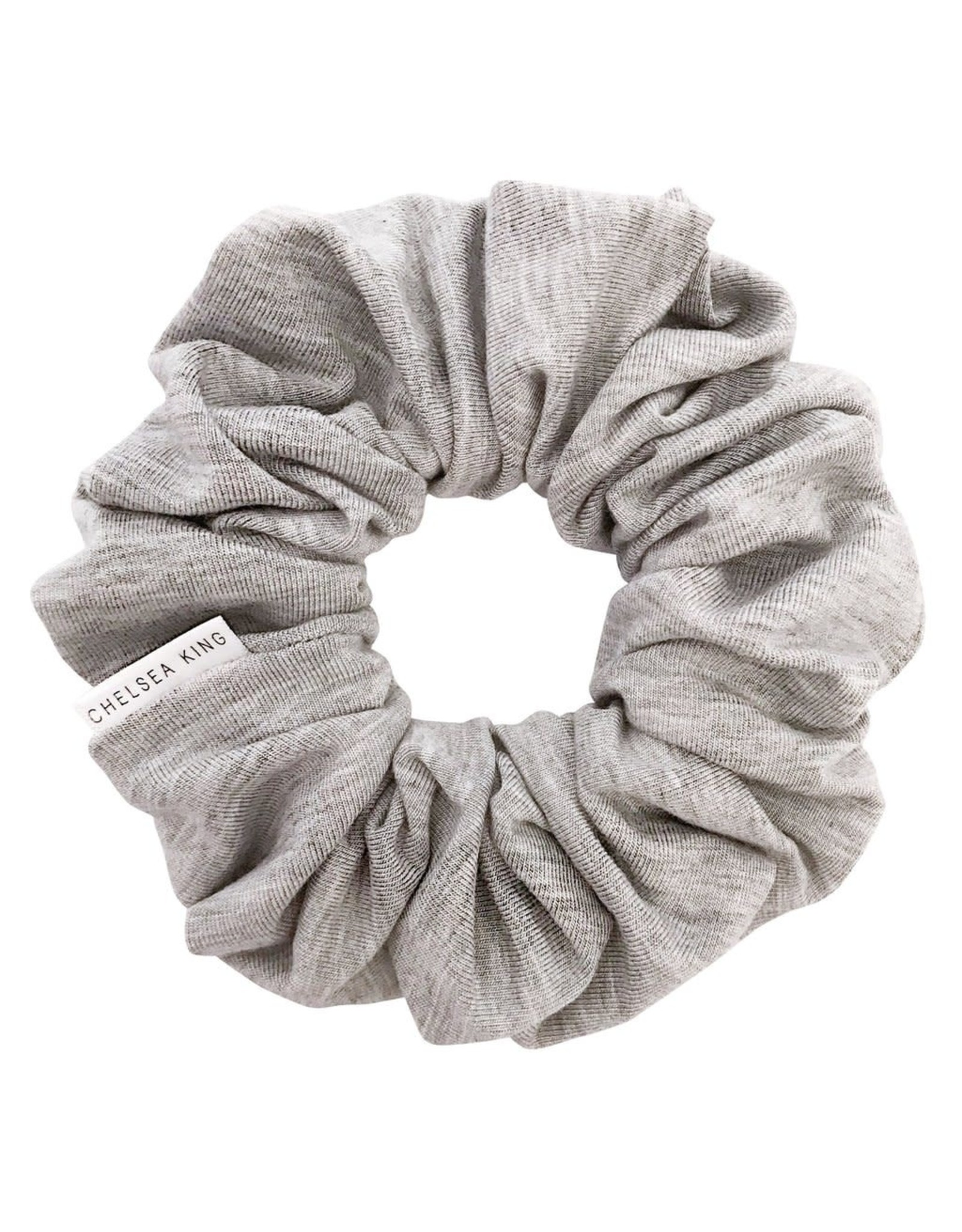 Chelsea King Organic Modal Heather Grey Scrunchie