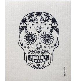 Ten & Co Skull Black Sponge Cloth