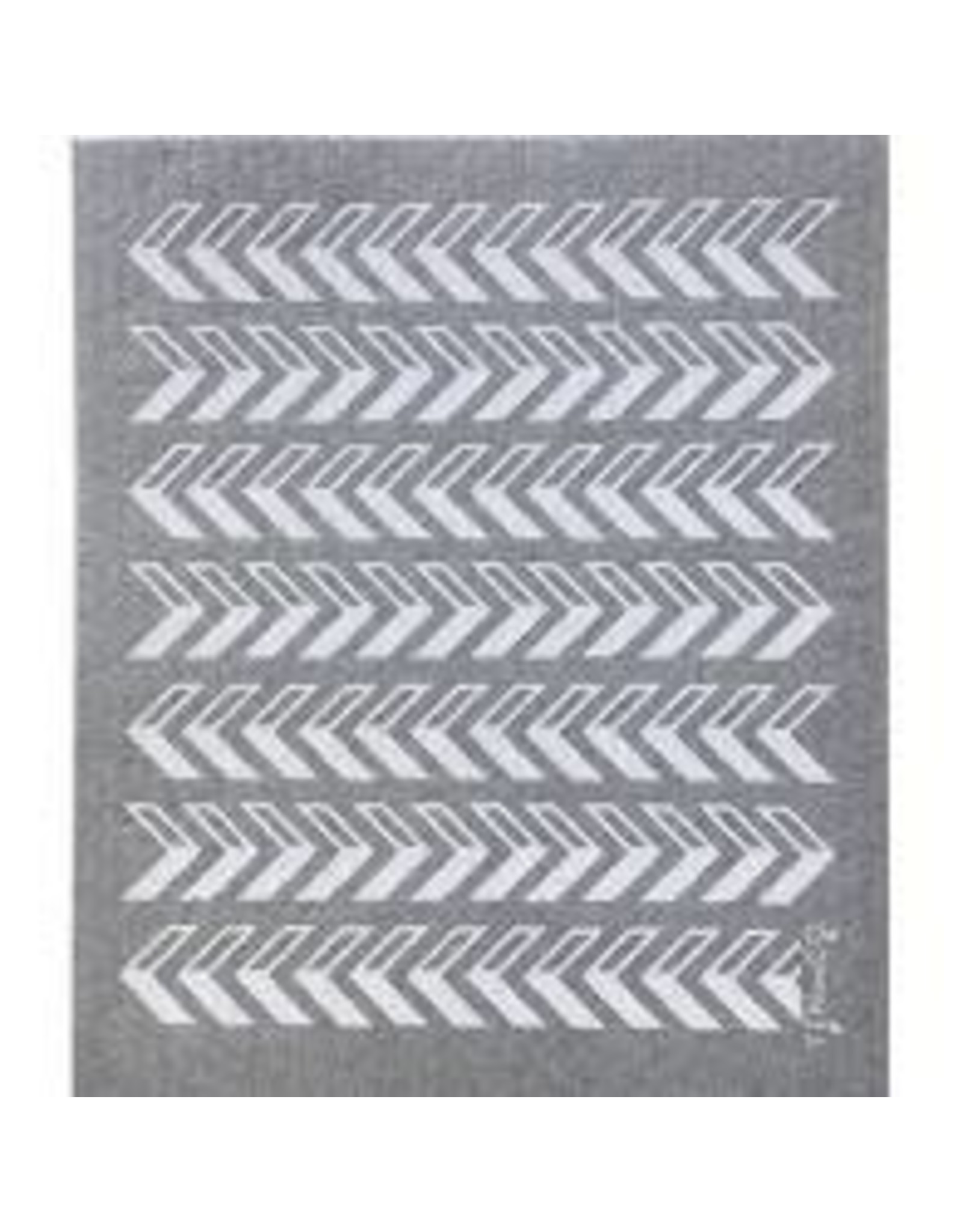 Ten & Co Arrow Grey Sponge Cloth