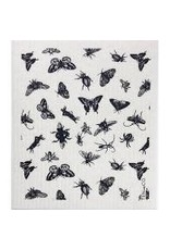 Ten & Co Bugs Black Sponge Cloth