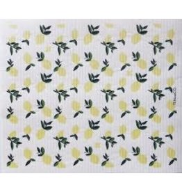 Ten & Co LARGE Citrus Lemon Sponge Cloth