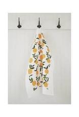 Ten & Co Tea Towel Citrus Orange