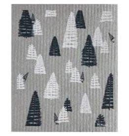 Ten & Co Woods Grey Sponge Cloth