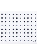 Ten & Co Tiny X + Sponge Cloth (white) LARGE