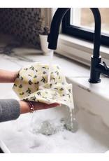 Ten & Co LARGE Citrus Lemon Sponge Cloth